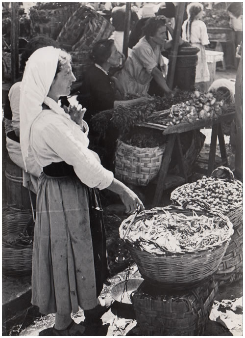 Hilde Lotz-Bauer photo from Italy in the 1930s