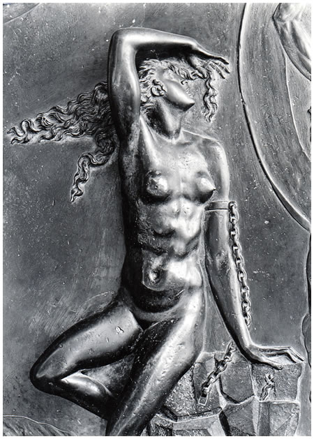 Photo: Hilde Lotz-Bauer - Andromeda by Giberti on the Gates of Paradise, Baptistery in Florence
